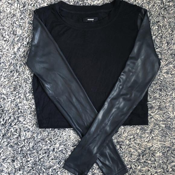 RUDSAK Tops - 💋RUDSAK BLACK TOP NWOT